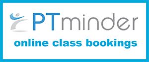 PT minder - online class bookings